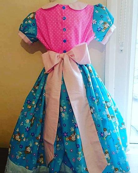 Princess dress 5-6yo