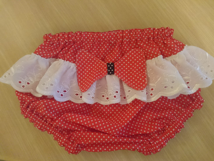nappy cover with ruffles