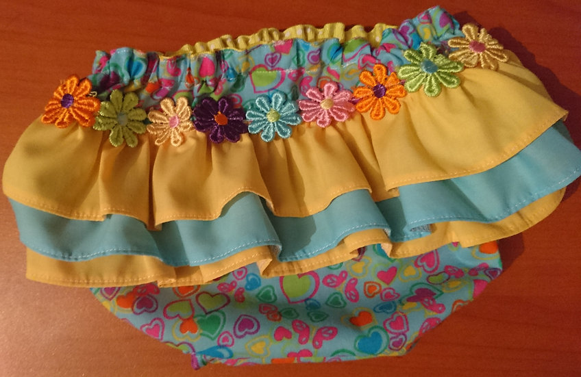 Frilly knickers 0-3m RTP