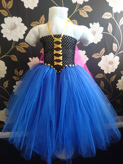 Anna inspired tutu dress with cape