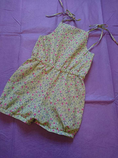 Libby Pleated romper size 4-5 RTP