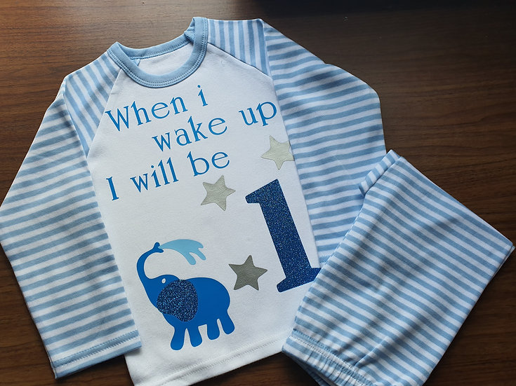 Personalised pj's