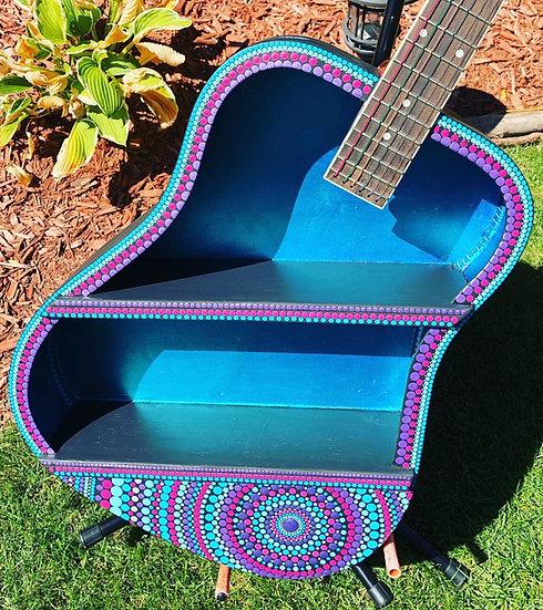 Acoustic Guitar Double Wall Shelf