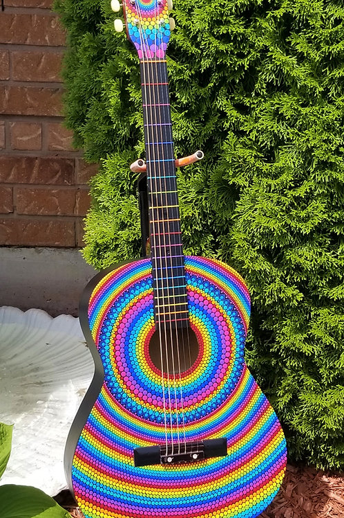 Acoustic Guitar Wall Art- Joy