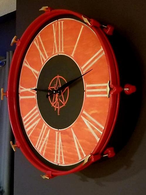 """22"""" RUSH Bass Drum Clock"""