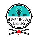 Funky Upbeat Designs Logo - Drum _ Stick