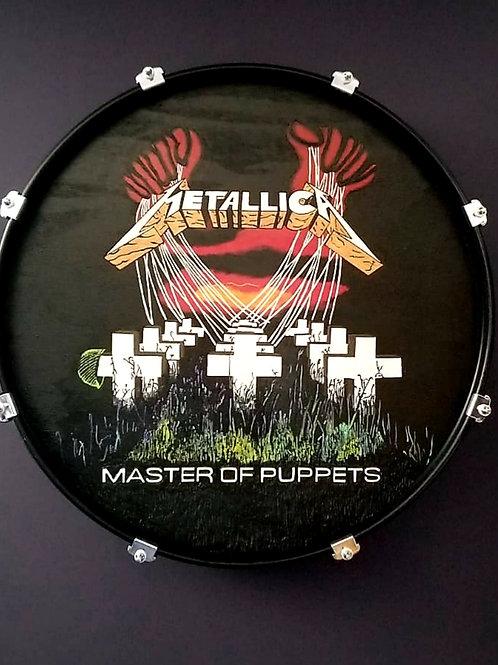 """22"""" Metallica Drum Wall Art"""