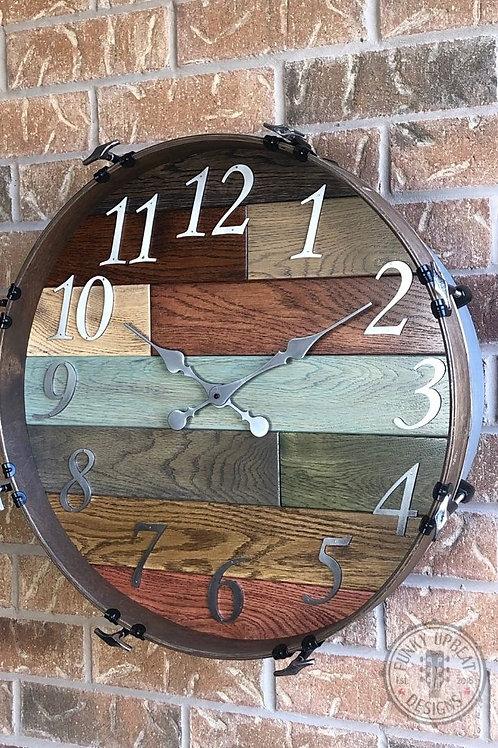 """20"""" Bass Drum Clock"""