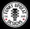 Funky Upbeat Designs Logo - Drum - No Ta