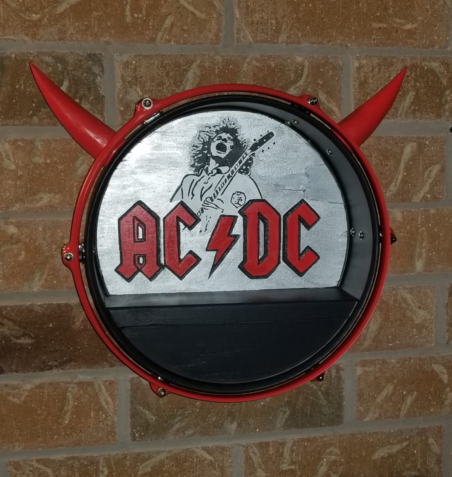 ACDC Band Drum