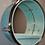 "Thumbnail: 12"" Drum Mirror Wall Shelf"