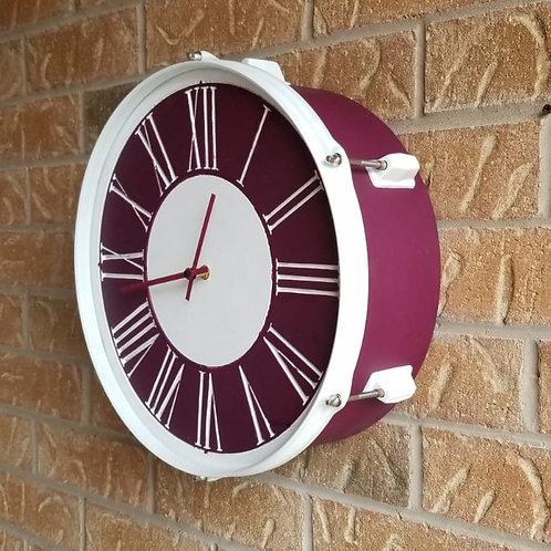 """14"""" Drum Clock"""