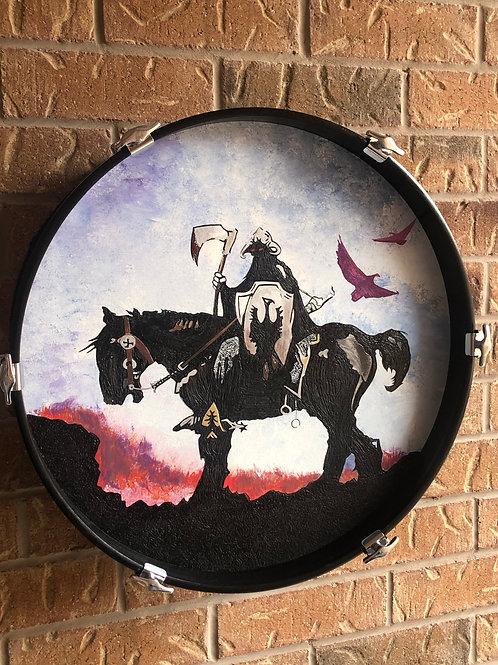 """20""""Frank Frazetta Drum Wall Art"""