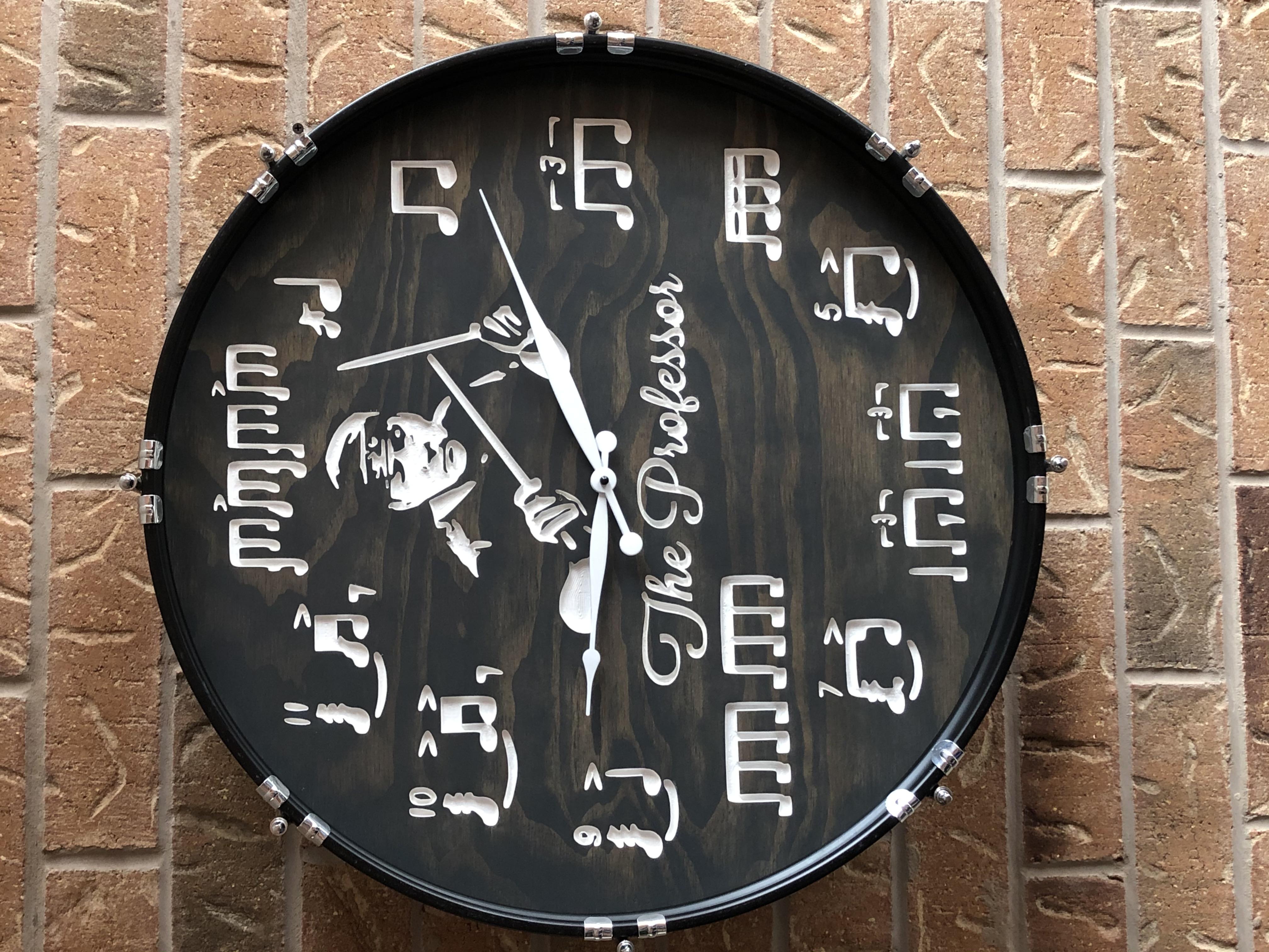NP Bass Drum Clock
