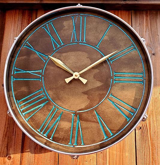 """14"""" Colour Shift Drum Clock"""