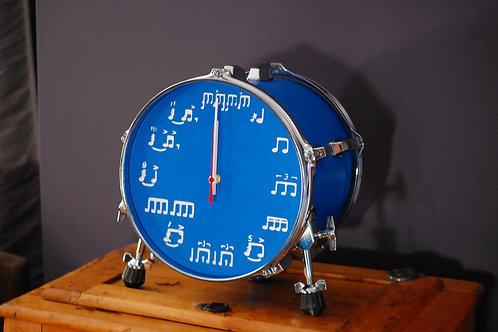 "10"" Bookshelf/Tabletop Drum Clock"