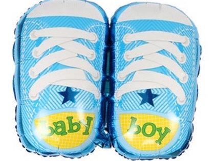 """בלון """"נעליים"""" לתינוק"""