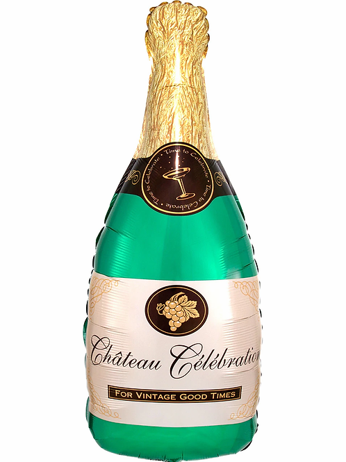 """בלון """"שמפניה""""+הליום"""