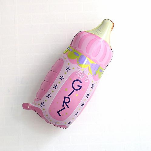 """בלון """"בקבוק"""" לתינוקת"""
