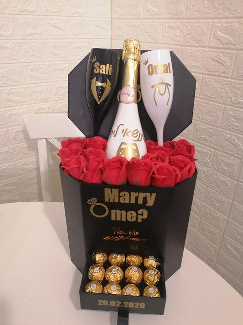"""מארז """"חתונה"""" להצעת נישואין"""