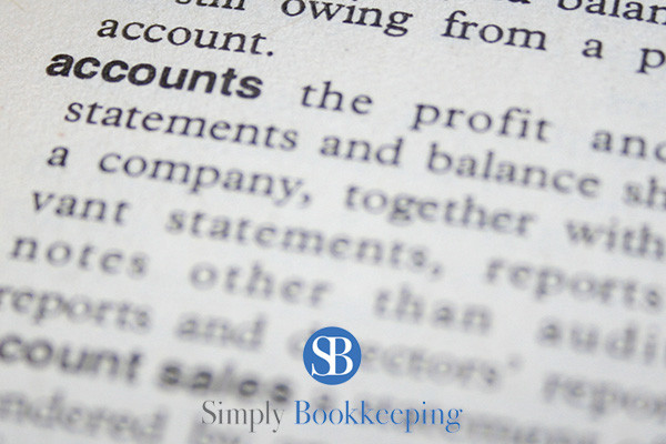 Bookkeeping Terms for Small Business