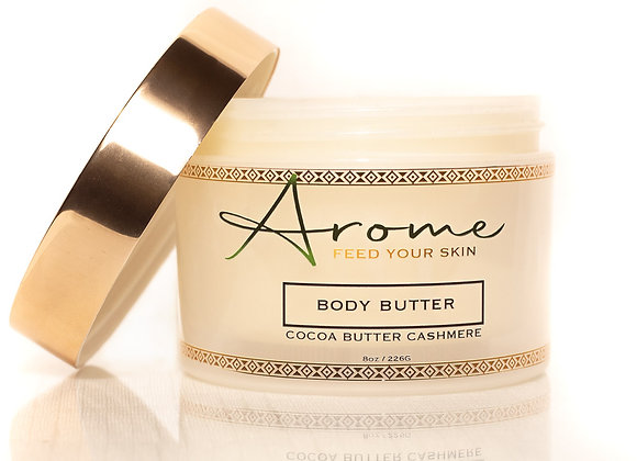 COCOA BUTTER CASHMERE BODY BUTTER