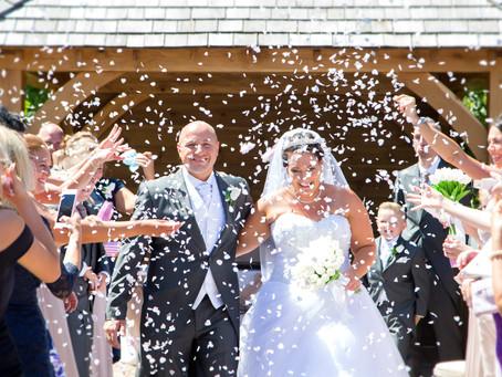 Cassie & Ryan's brilliant Tewin Bury Farm wedding.