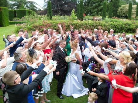 Vicky & Chris's Knebworth House wedding.