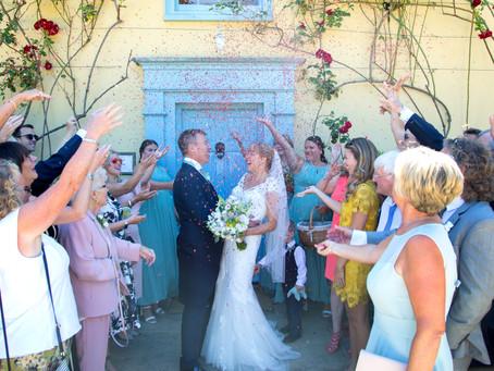 Lois & Paul's awesome South Farm  wedding.