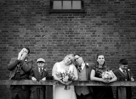 Kelly & Lee's Tewin Bury Winter Wedding...
