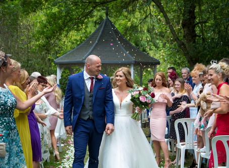 Kelly & Michael's Milling Barn wedding...