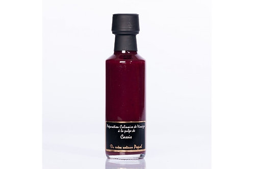 Vinaigre à la pulpe de Cassis 500ml