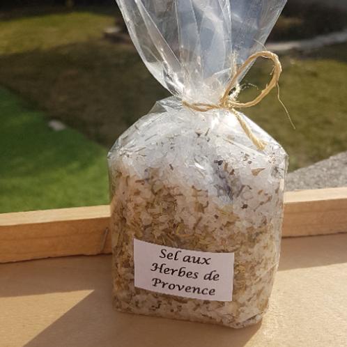 Gros sel de Camargue - Aux Herbes de Provence - sachet