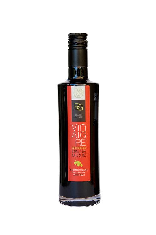 Vinaigre balsamique de Groseille. Bouteille 250ml