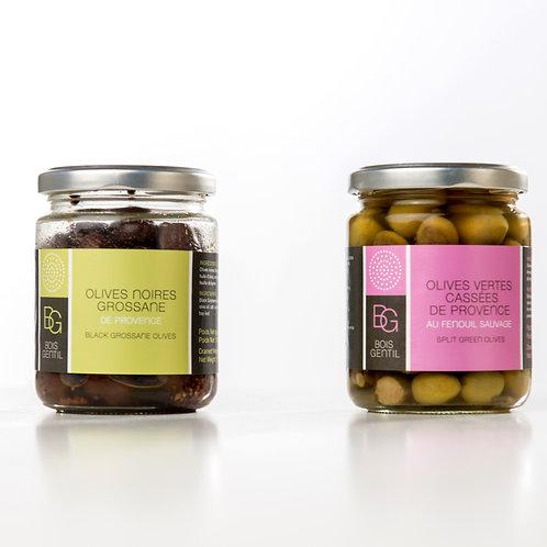 Olives vertes PROVENCE au fenouil sauvage