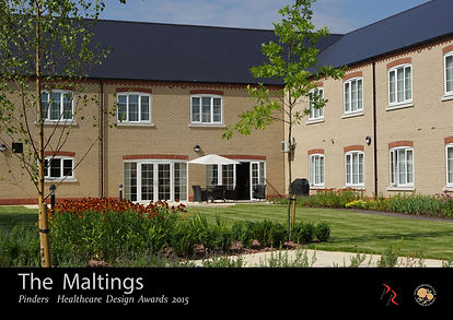 The Maltings Care Home, Pinders Healthcare Design Awards 2015 by Portess and Richardson Architects