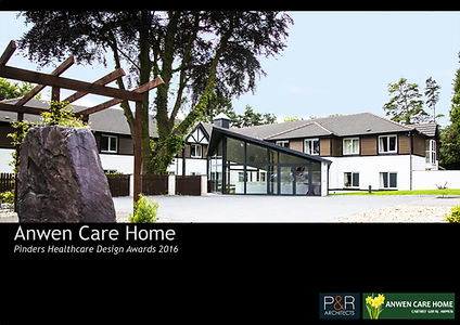 Anwen Care Home Pinders Healthcare Design Awards 2016 by Portess and Richardson Architects