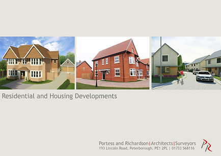 Residential and Housing Developments by Portess and Richardson Architects