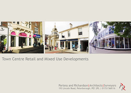 Town Centre Retail and Mixed Use Developments by Portess and Richardson Architects