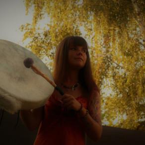 Rencontre avec mon tambour.