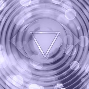 Le chakra du 3ème oeil : siège de la perception et de l'intuition.