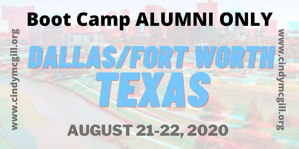 Boot Camp ***ALUMNI ONLY ***