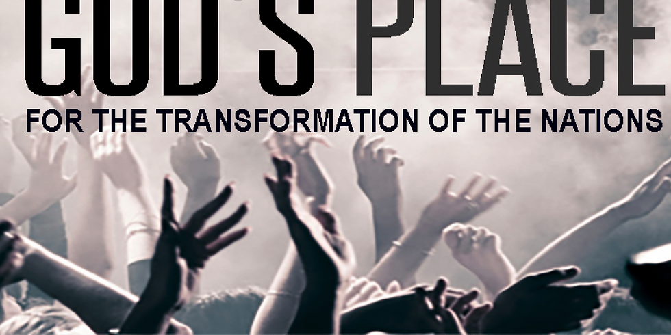 Speaking Event: God's Place for the Transformation of the Nations