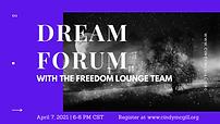 April 7 Dream Forum.png