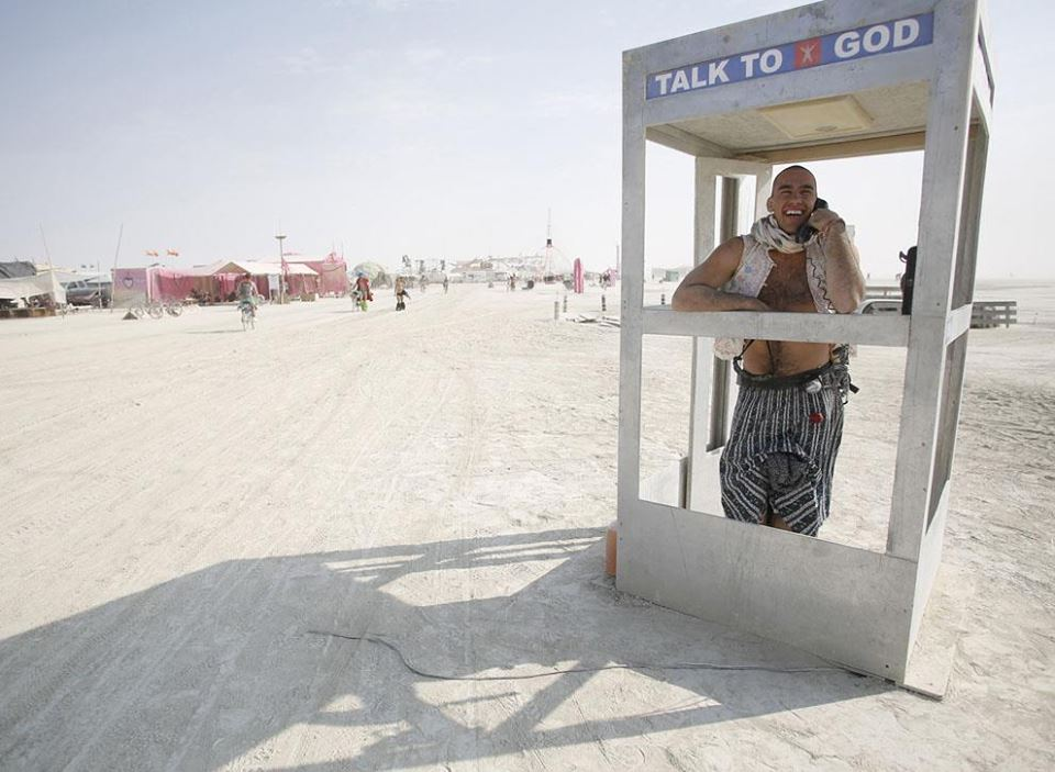 "Burning Man ""Talk to God"""