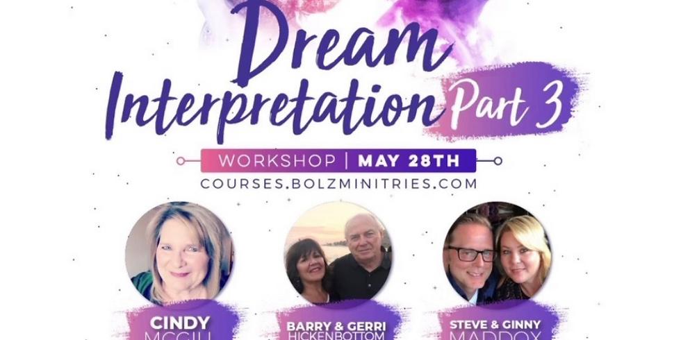 Shawn Bolz : Dream Interpretation Part 3
