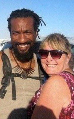 Burning Man, Caleb & Cindy