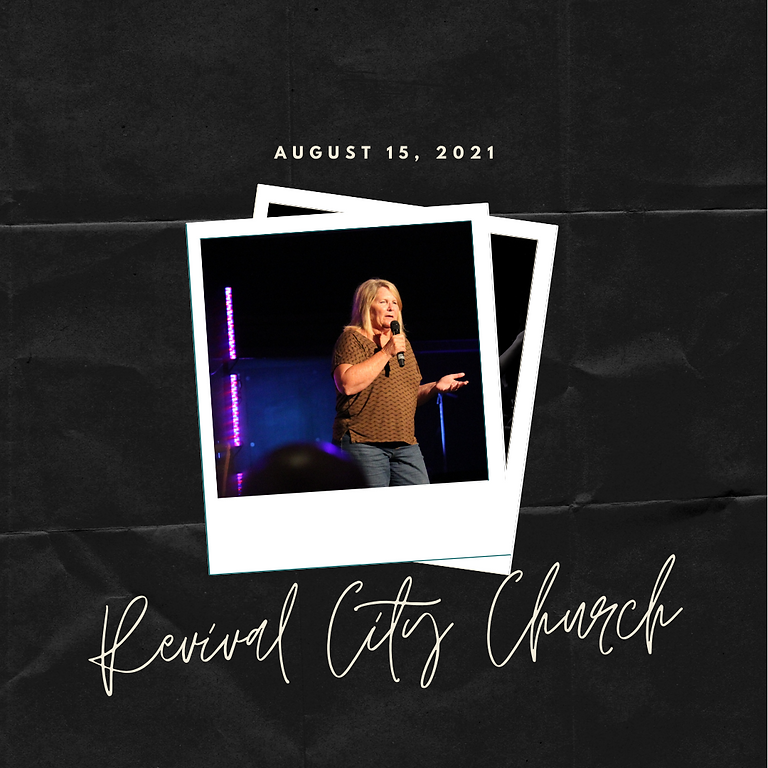 Guest Speaker at Revival City Church