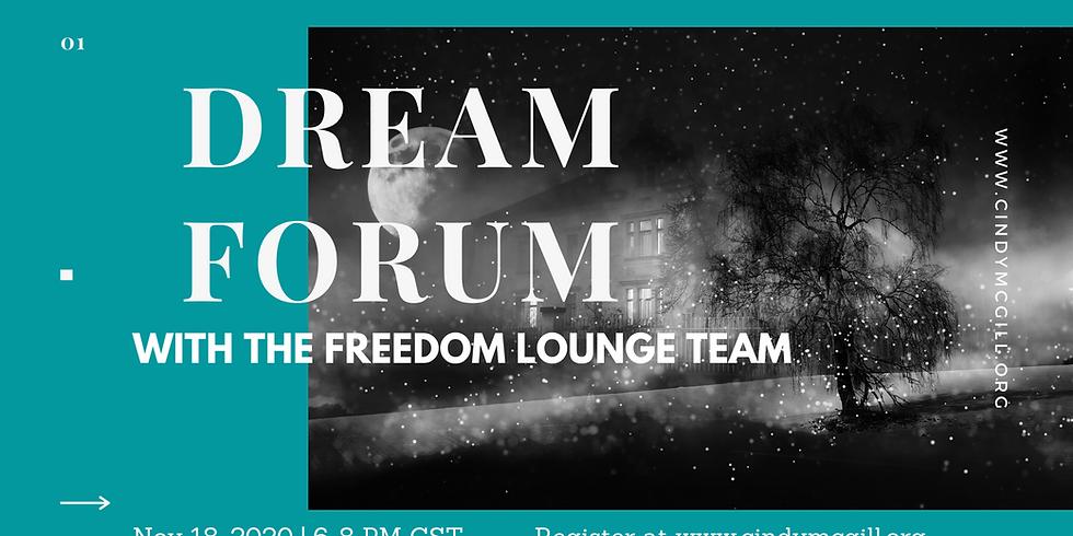 Nov 18 Dream Forum