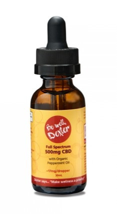 Be Well Dexter CBD Oil 500 Peppermint